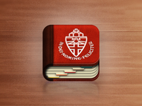 Address Book iOS icon (improved)