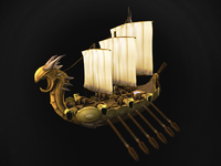 3d model - Viking Ship
