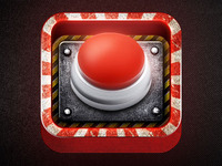 App Icon Design - Panic Alarm Button