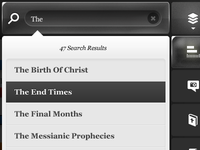 Mobile UI Design - Bible App