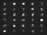 Shiny 3D Icons (Set 3)