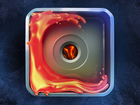 Lava Icon Experiment