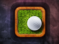 Golf App Icon Design
