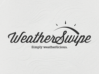 Logo Design - WeatherSwipe