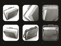 iOS Icon - Portfolio Sketches