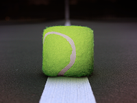 Tennis Ball Icon Design