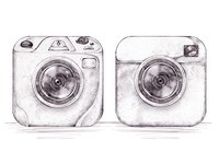 Camera Icon Sketches