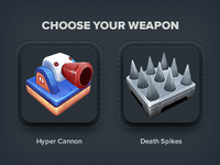 3D Game Models - Choose Your Weapon