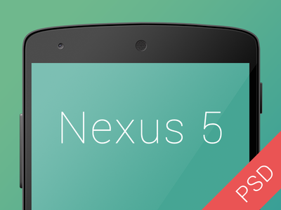 Download Free Nexus 5 PSD