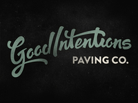 Good Intentions Paving Co