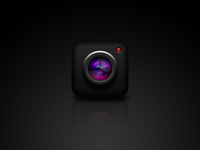 iPhone App Camera Icon