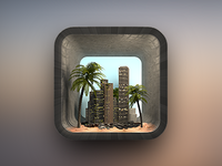 Citybeach iOS Icon
