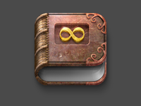 Old Book iOS Icon