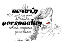 Oscar Wilde Quote · Beauty