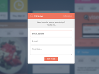 Widget Website Form