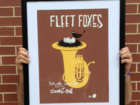 Fleet Foxes Poster (silkscreen)