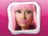Nicki Minaj's Pink Friday Icon