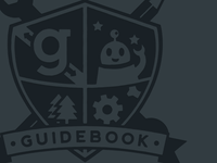 Guidebook crest (v2, dark)