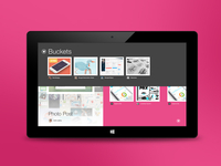 Dribbble Windows 8 App (WIP)
