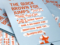 The Quick Brown Fox has a few minor tweaks...