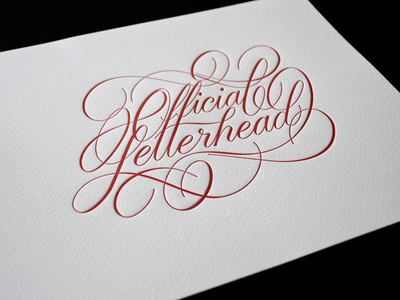 Official Letterhead Print