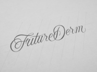 FutureDerm Logotype Sketch