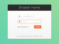First Freebie! :) - Smarter Home App Login