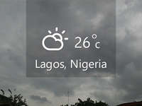 Lagos Weather