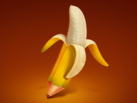Banana Pencil icon