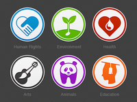 Donation Category Icons