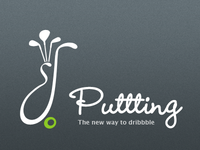 Puttting, the new way to dribbble