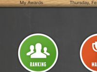 Awards UI