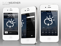 iPhone SlickWeather App