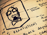 Brandlessons Logo Sketch