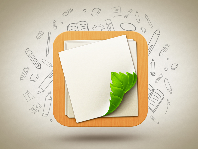Loose Leaf app icon