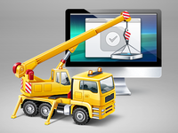 Web App Development illustration
