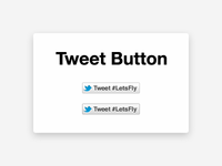 The NEW Twitter Button