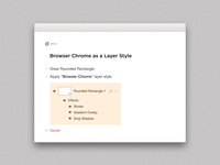 Freebie: Browser Chrome as Layer Style