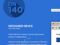 DN140 — DesignerNews twitter feed