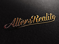 Alters Reality Logo Design Mock