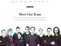 New Castus Website - Meet the Team