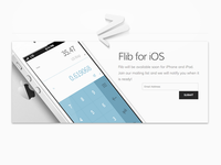Flib iOS - Subscription Form