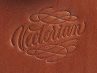 Vectorian logo stamped