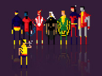 8 Bit the all-new, all different X-men