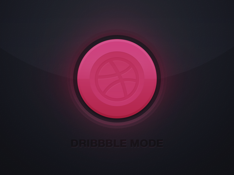 Dribbble_mode_on