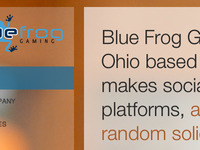 Blue Frog refresh