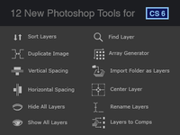 12 New Photoshop Tools for CS6
