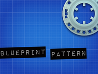 Free blueprint pattern
