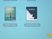 """Mata Pelajaran"" Interface for elementary students [WIP]"