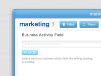 Marketing1 interface redesign v2